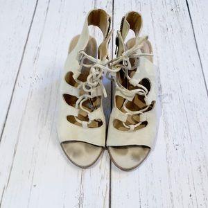 Steve Madden • Lace Up Heels
